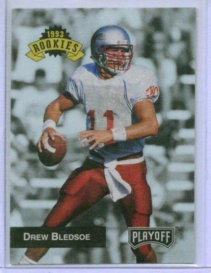 1993 Playoff Drew Bledsoe Rookie
