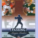 07 Prestige Passing League Leaders Favre & Palmer Insert Card