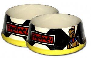 Feed Me Large Personalized Dog Bowl