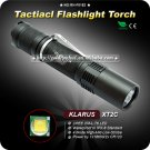 KLARUS XT2C Flashlight CREE XML T6 LED Flashlight 1*18650 Aircraft grade aluminum IPX-8 Standard