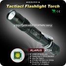 KLARUS XT2A Tactical Flashlight CREE XPG-R5 LED Aircraft grade aluminum IPX-8 Standard Torch
