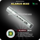 Klarus MiX6 Mini Flashlight Waterproof to IPX-8 CREE XP-G R5 LED Stainless Steel Camping Mini Torch