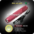 MINI Flashlight TK701 LED Waterproof Handheld EDC Flashlight Camping Hiking Torch