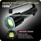 ARCHON D100W CREE 100W SWC 10000 Lumens LED 3-Mode Rechargeable 18650 Battery
