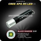BLACK SHADOW EVR 1 Mode Cree XPG R5 LED Flashlight AAA Battery Hiking Camping Torch