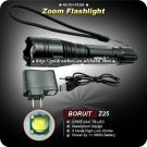 ZOOM Flashlight 1000 Lumens T6 LED Flashlight 18650 Battery Zoomable Adjustable Torch