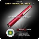 Red Pen Styel Mini Flashlight Cree  R5 95LM LED Flashlight (1 x AAA) Mini Camping Hiking Torch