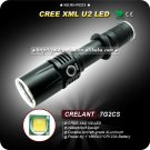 U2 Waterproof LED Flashlight 18650 Battery High Power Camping Hiking Torch