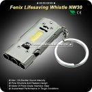 Fenix NW30 Lifesaving Emergency Survival SOS 120db Stainless Steel Whistle