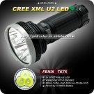 1PC FENIX TK75 3*CREE XM-L U2 LED 2600 lumens Torch Search Rescue LED Flashlight