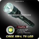 Trustfire X8 1000 Lumens CREE T6 LED Flashlight 5 Mode Waterproof Torch