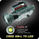 TrustFire X9 CREE XML XM-L T6 LED Flashlight Torch SET