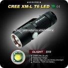 1PC Magnet Olight 320LMCR123 Battety Durable Aircraft-grade Aluminum LED Flashlight