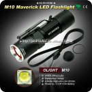 1PC Flashlight OLIGHT M10 Maverick LED 350LM CR123 EDC Pocket Flashlight