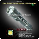 1PC Klarus RS11 Cree XM-L U2 4-Mode LED Waterproof Outdoor 1x 18650 Flashlight