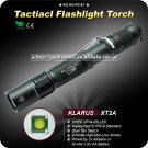 1PC KLARUS XT2A Tactical Flashlight 4 Mode CREE XPG-R5 LED Flashlight 2x AA Battery