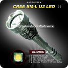 1PC Klarus XT30 Cree XM-L U2 4-Mode LED Waterproof Outdoor 2x 18650 Flashlight