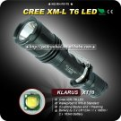 1PC KLARUS XT10 Tactical Flashlight 4 Mode CREE XM-L XML T6 LED Flashlight