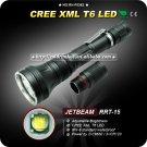 1PC JETBeam RRT-15 Raptor Tactical Cree XM-L XML T6 LED Flashlight Waterproof
