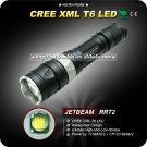 1PC JETBeam RRT2 4-mode CREE XM-L T6 460lm Tactical LED Flashlight Power By 1x18650
