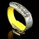 Painted metallic gold leather bracelet fashion wild beautiful gift free shipping -zp044