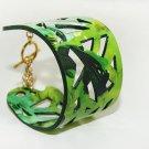 Original unique geometric decoration fine wide leather bracelet bracelet free shipping -zp075
