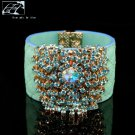 Original unique personality fashion beautiful peacock hand with free shipping -zp092