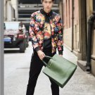 idjewelry fashion Slim casual cool holiday gift space cotton jacket collar male students NY008