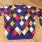 LIMITED XL Sweater Purple Jester Design Pullover