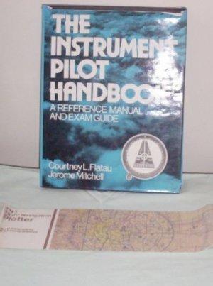 Hardcover Instrument Airline Pilot Handbook Manual Book Exam Guide Flatau 1980 DJ
