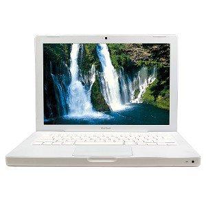 """Apple MacBook Core 2 Duo 2.0GHz 1GB 80GB CDRW/DVD 13.3"""" Notebook"""