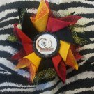 Bottlecap Flower FIFA World Cup Germany Hair Bow ~ Free Shipping