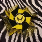 Bottlecap Flower Wolverine Hair Bow ~ Free Shipping