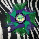 Bottlecap Flower Hulk Hair Bow ~ Free Shipping