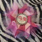 Bottlecap Flower My Little Pony Pinkie Pie Hair Bow ~ Free Shipping