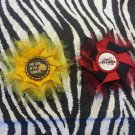 The Walking Dead Lizzie and Judith Set Hair Bow ~ Free Shipping