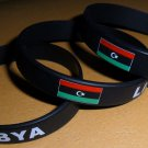 Libya Country Flag Silicone Rubber Bracelet Sport Unisex Fashion Multi Color Wristband