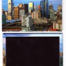 Melbourne Laminated Photo Rectangular Fridge Magnet Souvenir From Australia