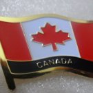 Canada Metal Brass Alloy Lapel Pin Country Flag Logo Soft Enamel Emblem Badge Button