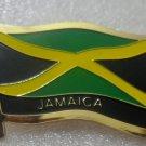 JAMAICA Metal Brass Alloy Lapel Pin Country Flag Logo Soft Enamel Emblem Badge Button