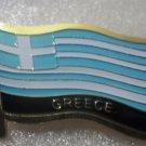 GREECE Metal Brass Alloy Lapel Pin Country Flag Logo Soft Enamel Emblem Badge Button