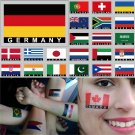 2 Temporary Skin Germany Country Flag Tattoo Sticker Party Favors Tattoos Stickers
