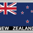 2 Temporary Skin New Zealand Country Flag Tattoo Sticker Party Favors Tattoos Stickers