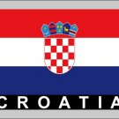 2 Temporary Skin Croatia Country Flag Tattoo Sticker Party Favors Tattoos Stickers