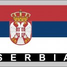 2 Temporary Skin Serbia Country Flag Tattoo Sticker Party Favors Tattoos Stickers
