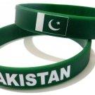 Pakistan Country Flag Silicone Rubber Bracelet Sport Unisex Fashion Multi Color Wristband