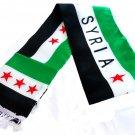 Syria Rebels Flag Unisex Neck Fashion Arabian Scarf Desert Shawl Shemagh Syrian Wrap