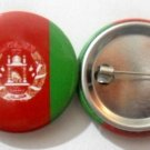 Afghanistan National Country Flag Button Badge Lapel Pin Tin Plate 30 mm Diameter