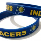 NBA Indiana Pacers Team Silicone Rubber Bracelet Sport Unisex Fashion Multi Color Wristband