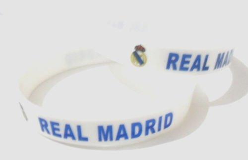 Real Madrid Football Soccer Club Silicone Rubber Bracelet Sport Team Unisex Fashion Wristband
